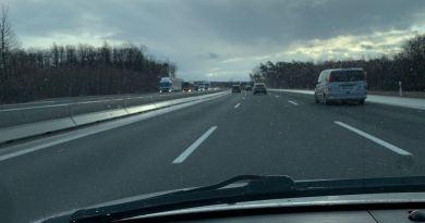 Limite de vitesse 120 sur l'autoroute? Une auto-expérience.
