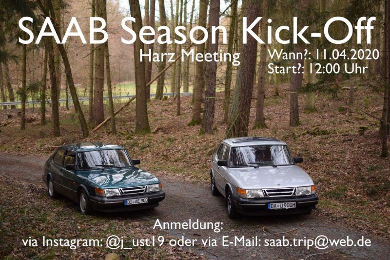 Início da temporada da Saab nas montanhas Harz