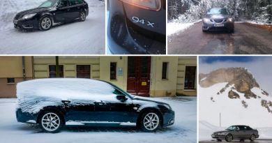 Saab Snow & Ice, a foto do inverno. Última chamada!