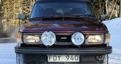 Schwedenfund. Ein Vorserien-99 Turbo aus einer Scheune im Jämtland.