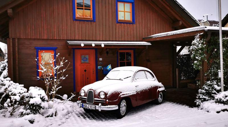 Auch das Sauerland und der Klassiker von Christoph bekamen Schnee ab!