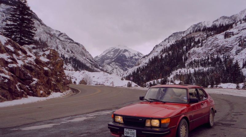 Die Rock Mountains. Stefan ist unterwegs mit dem 900.