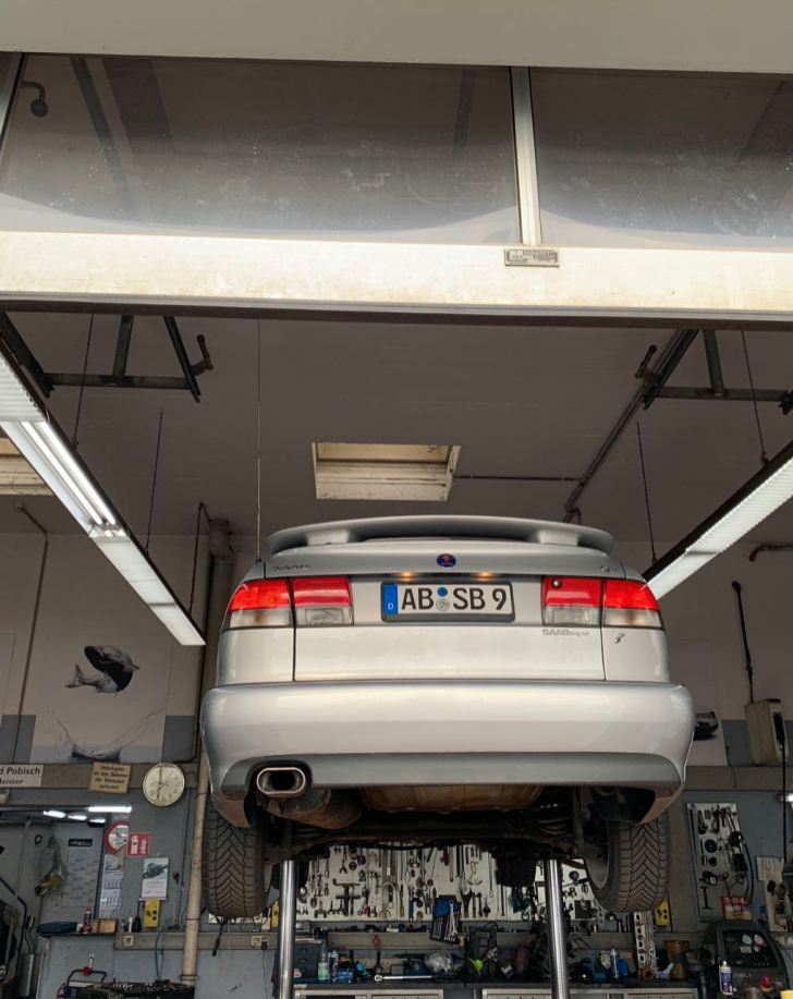 Saab Aero in the workshop
