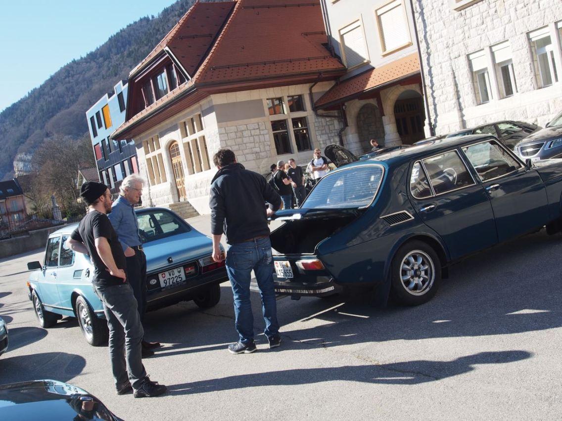 In der Schweiz war wieder einmal klar: Saab verbindet!