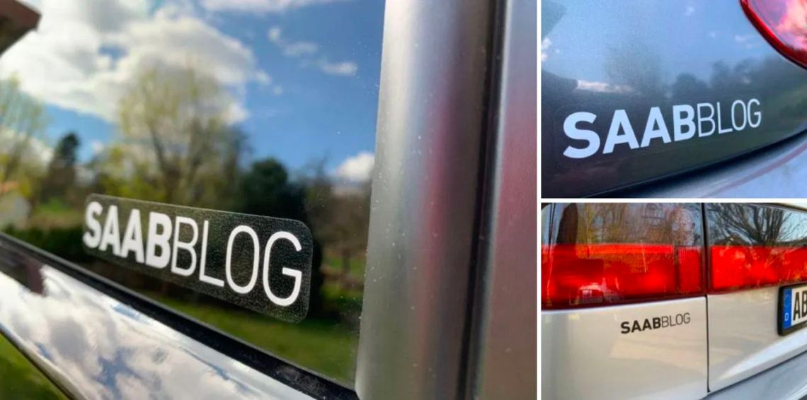 Die neuen Saabblog Aufkleber
