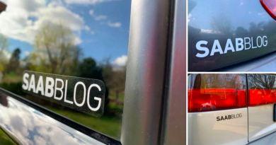 Os novos adesivos da Saabblog