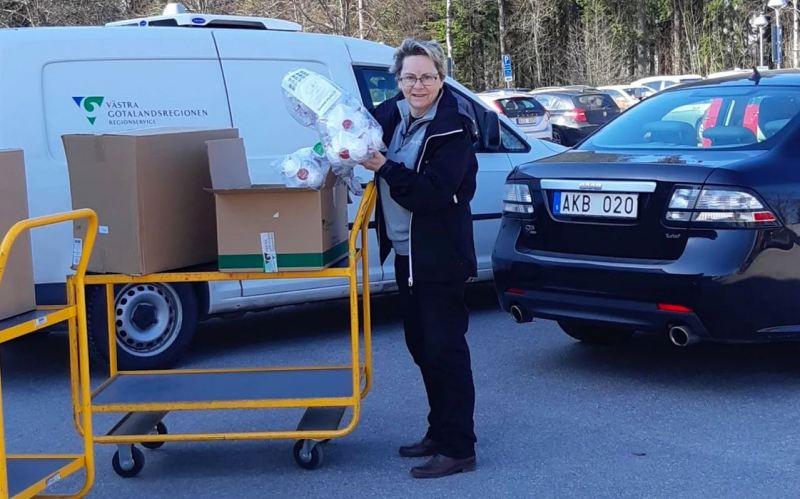 NEVS entrega respiradores às autoridades locais