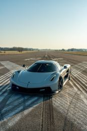 Koenigsegg uses it for high-speed tests