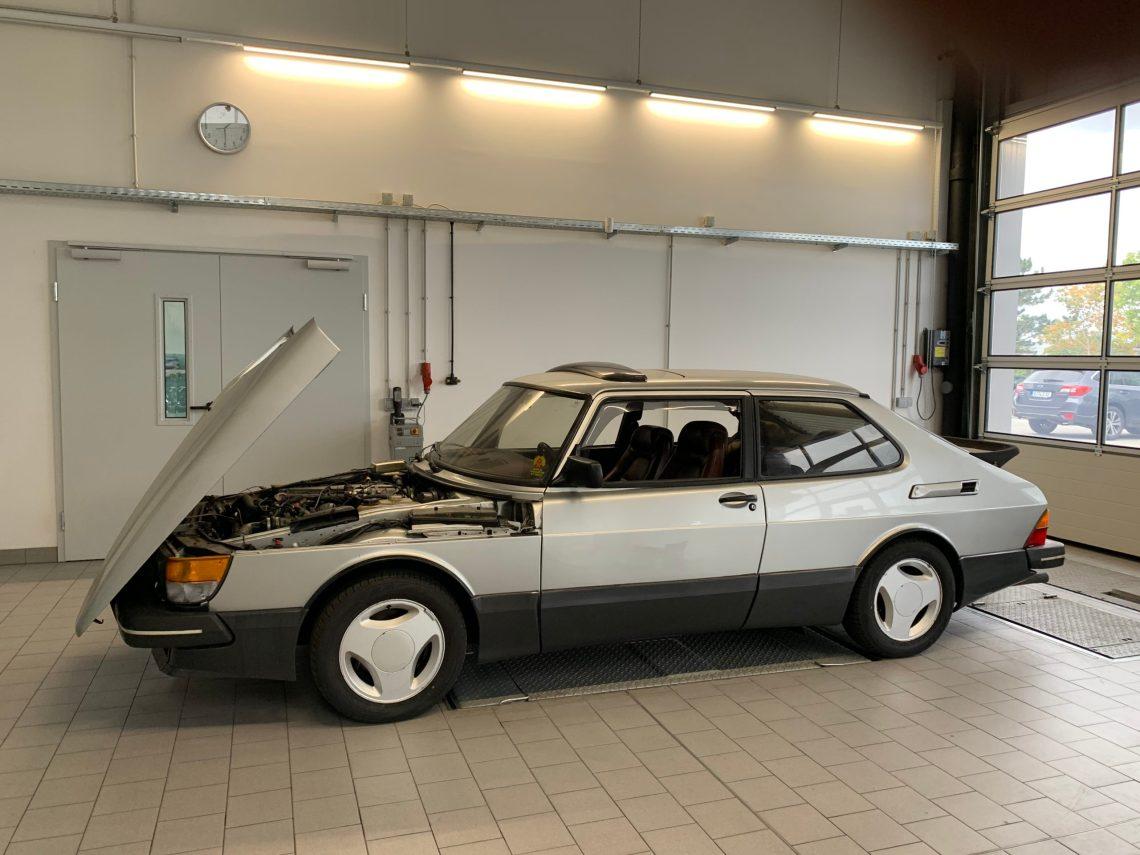 Wartung in Saab Werkstätten