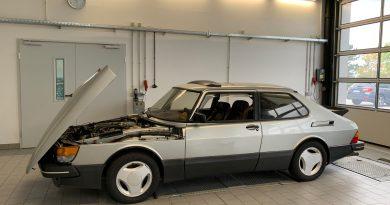 Manutenzione nelle officine Saab