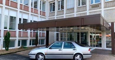Saab körning i Corona gånger