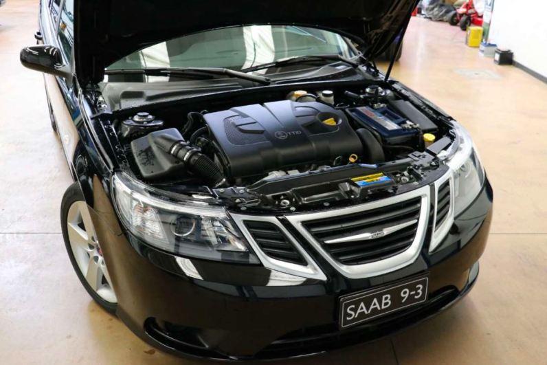 Deze nieuwe Saab-auto is verkrijgbaar bij een Saab-dealer in Italië