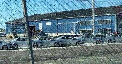 Ein Schwede kommt aus China. NEVS 9-3 EV in Wallhamn.