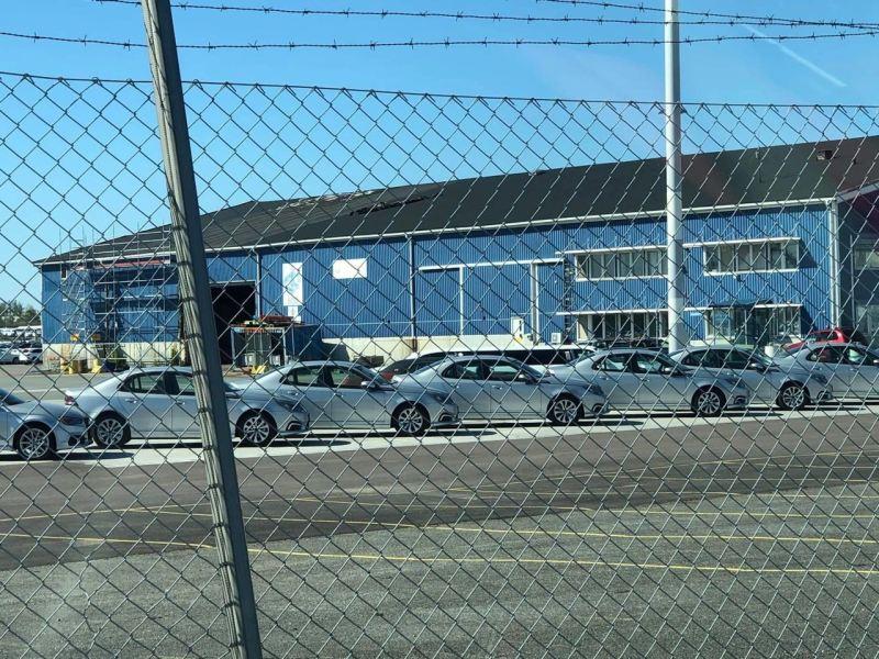 Ein Schwede aus China. NEVS 9-3 EV in Wallhamn