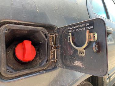 Treibstoff mit hoher Oktan Zahl wäre gut für volle Leistung