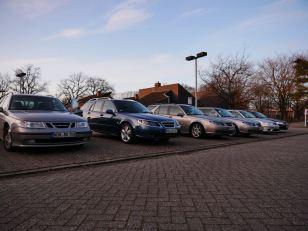 The Saab family fleet