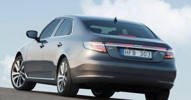 Новый Saab 9-5 седан. Он будет представлен прессе летом 2010 года.