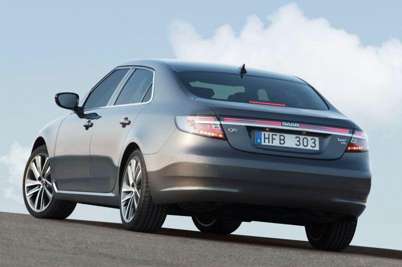 Die neue Saab 9-5 Limousine. Im Sommer 2010 wird sie der Presse vorgestellt.
