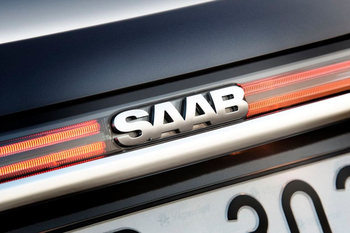 A Saab 9-5 NG in new car condition