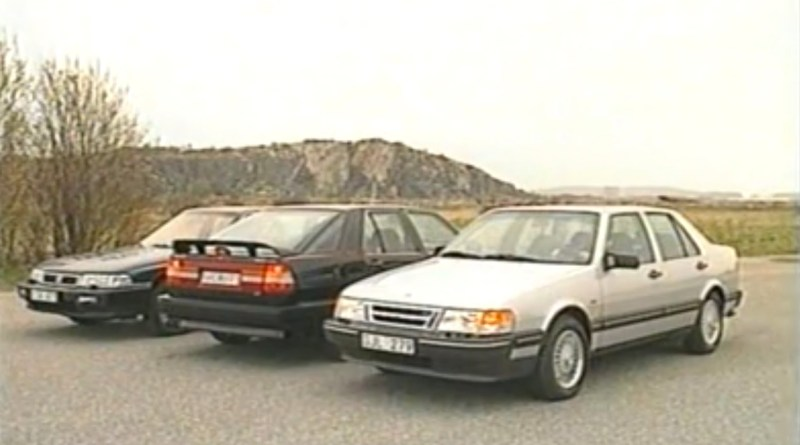 The Honda Legend against the Saab 9000. Japan is still no threat to Sweden.