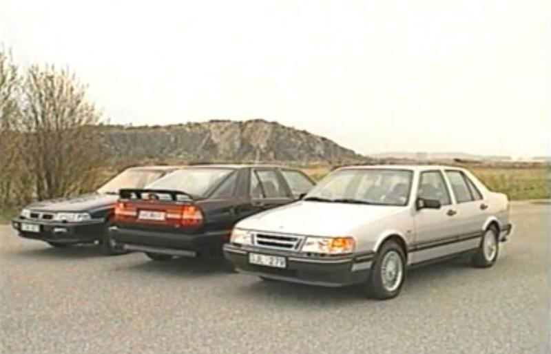 Der Honda Legend gegen den Saab 9000. Noch ist Japan keine Gefahr für Schweden.