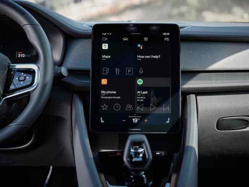 Android Auto en la Polestar 2
