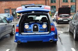 Saab in Saab - as a support for loudspeakers and music systems