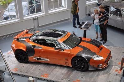 Foreign brand - Spyker in the Saab Museum