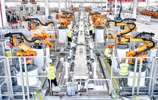 Dürr fornisce la linea di produzione completamente automatizzata