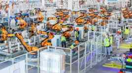 Smart robots come from Fanuc and Kuka