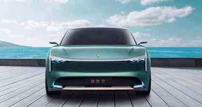 Um sedan puramente elétrico da classe média