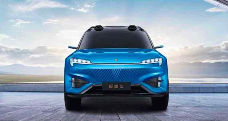 O SUV também é puramente elétrico