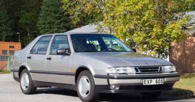 Saab 9000 CSE de 1996 en estado de coche nuevo