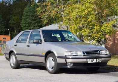 Saab 9000 CSE del 1996 in condizioni di auto nuove