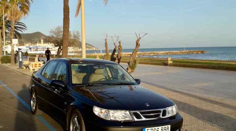 Spanische Momente – Lockdown und Neulack für den Saab
