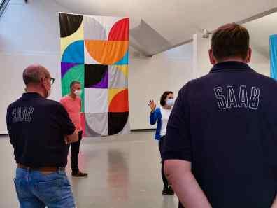 جولة إرشادية في معرض Göppingen الفني