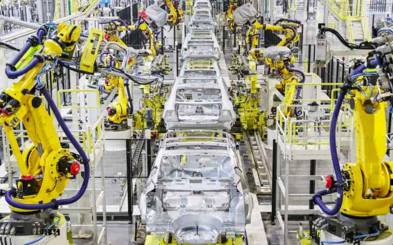 NEVS 9-3 Produktion bei Evergrande Auto