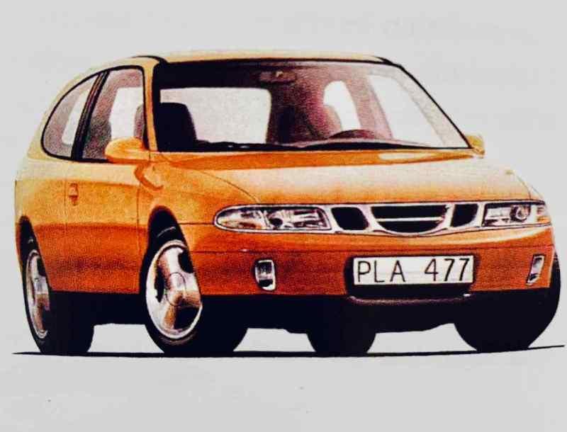 Saab 9-2 - der erste Versuch 1995 auf Basis des Saab 900 II