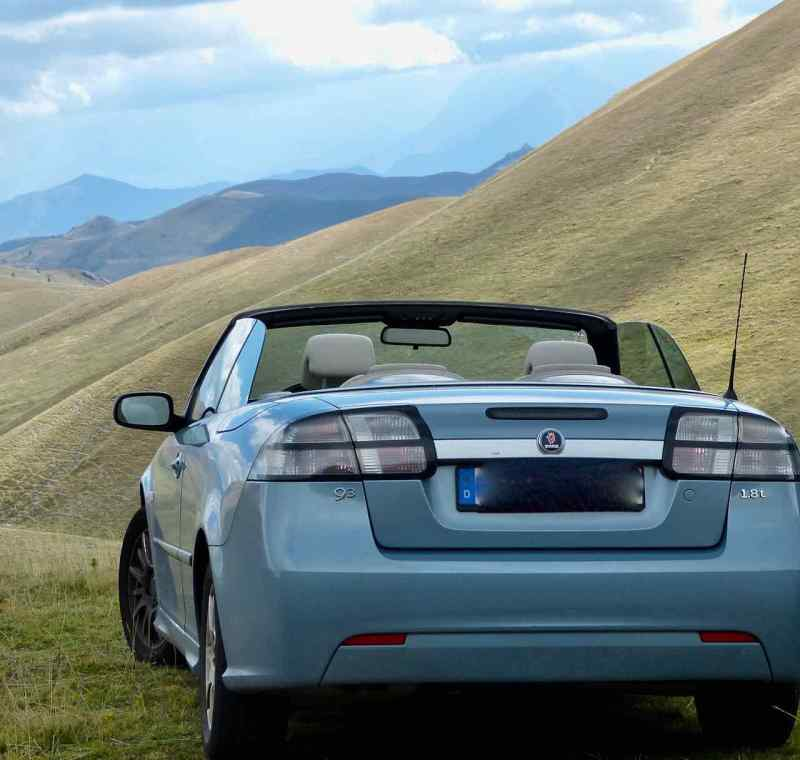 Saab 9-3 Cabriolet - my best Saab
