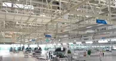 Evergrande production in the Nansha factory