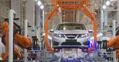 Produzione dell'ex Saab 9-3 presso Evergrande Auto