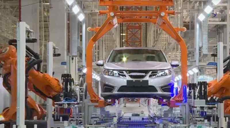 Produktion des Ex-Saab 9-3 bei Evergrande Auto