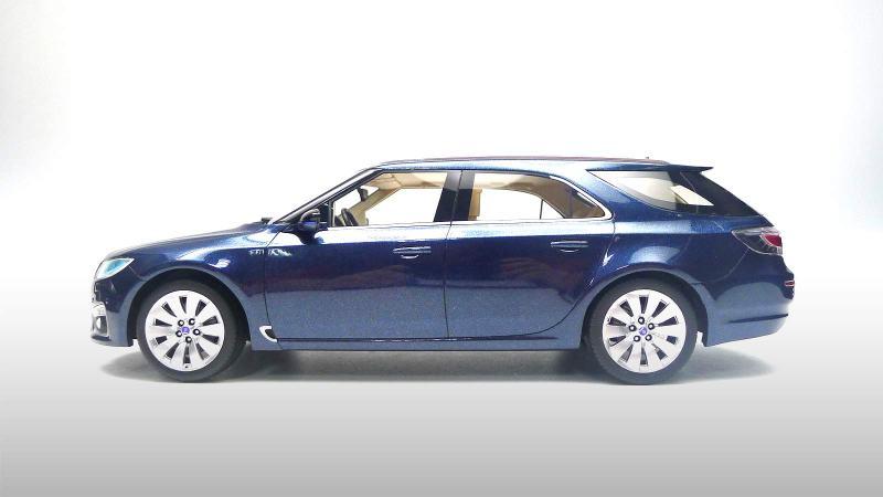 Neu von DNA ist der Saab 9-5 NG Sportkombi