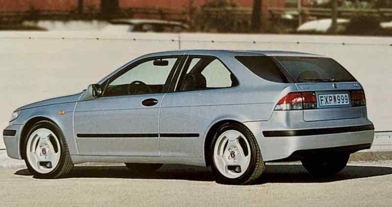 Der Saab Beitrag für die Golf Klasse - der 9-2
