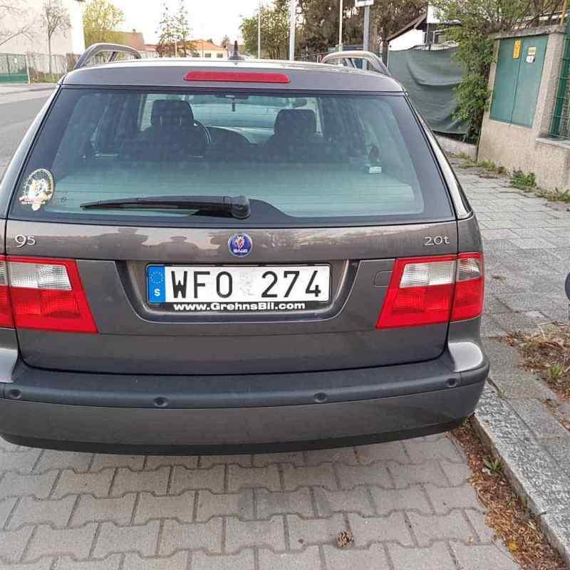 Saab avec immatriculation suédoise