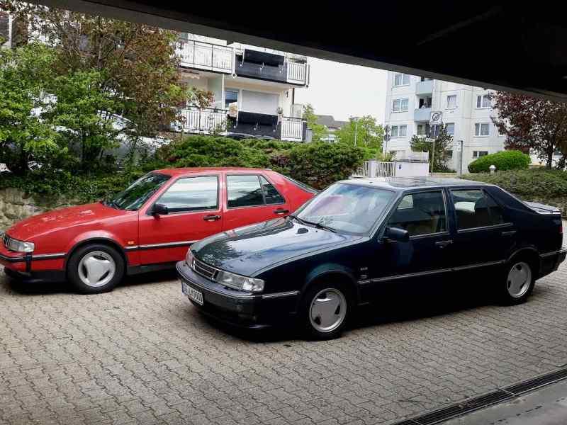 2 x Saab 9000: uno non è mai abbastanza