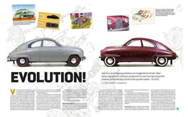 100 páginas con Saab antiguo