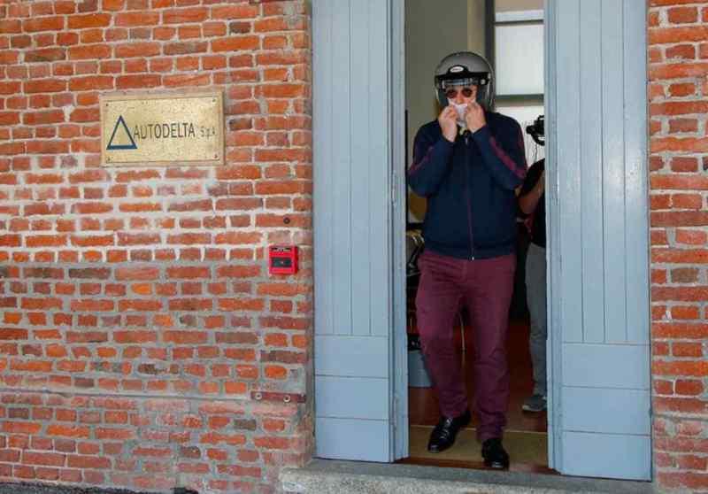 Mensaje sutil. Jean-Philippe Imparato Balocco abandona el edificio Autodelta.