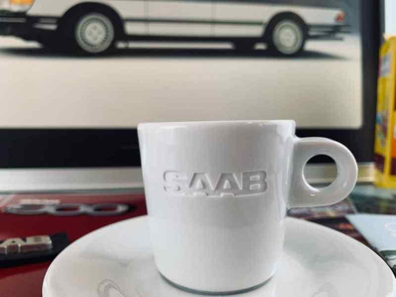 Le tazzine da caffè Saab saranno disponibili ad aprile