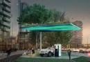 محطة الشحن السريع لسيارتين إلكترونيتين من فولفو